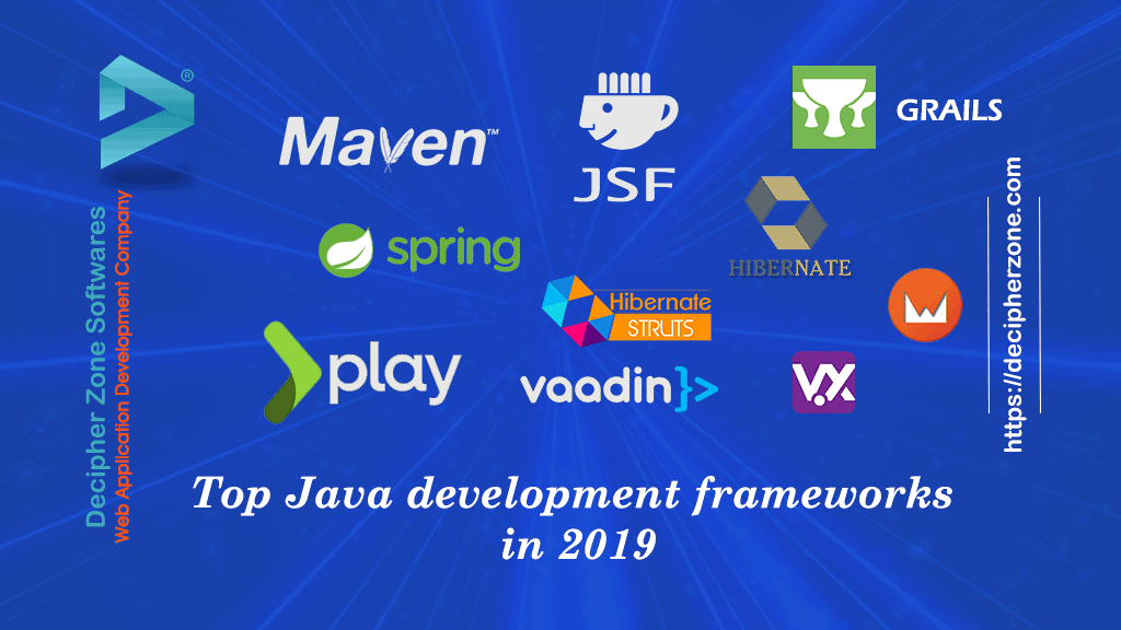 Top Java Web Development Frameworks in 2019