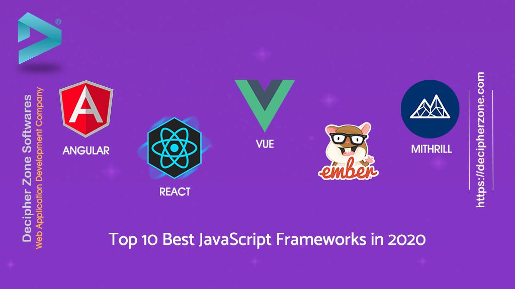 Top 10 JavaScript Frameworks 2020