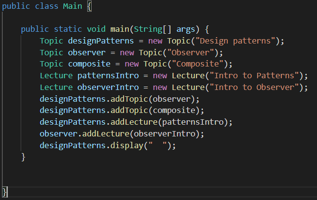 When to Use Composite Design Pattern in Java