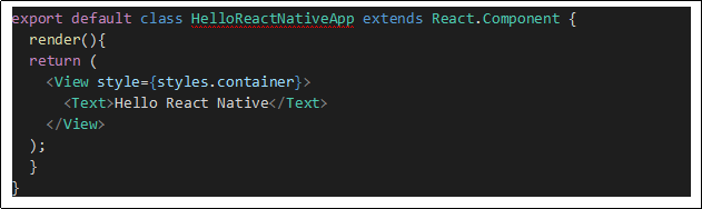 react native getting started with a brief guide